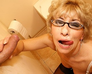 pic of Kaela is a passionate granny sucking of 8 loads in a row